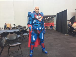 Armored Superman at 2017 New York Comic Con