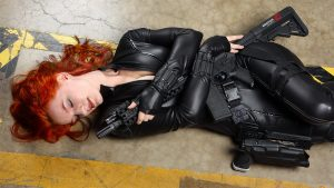 Ethereal Rose as Black WIdow