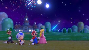 Mario and Friends out for a walk