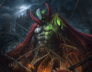 Spawn with a cool belt