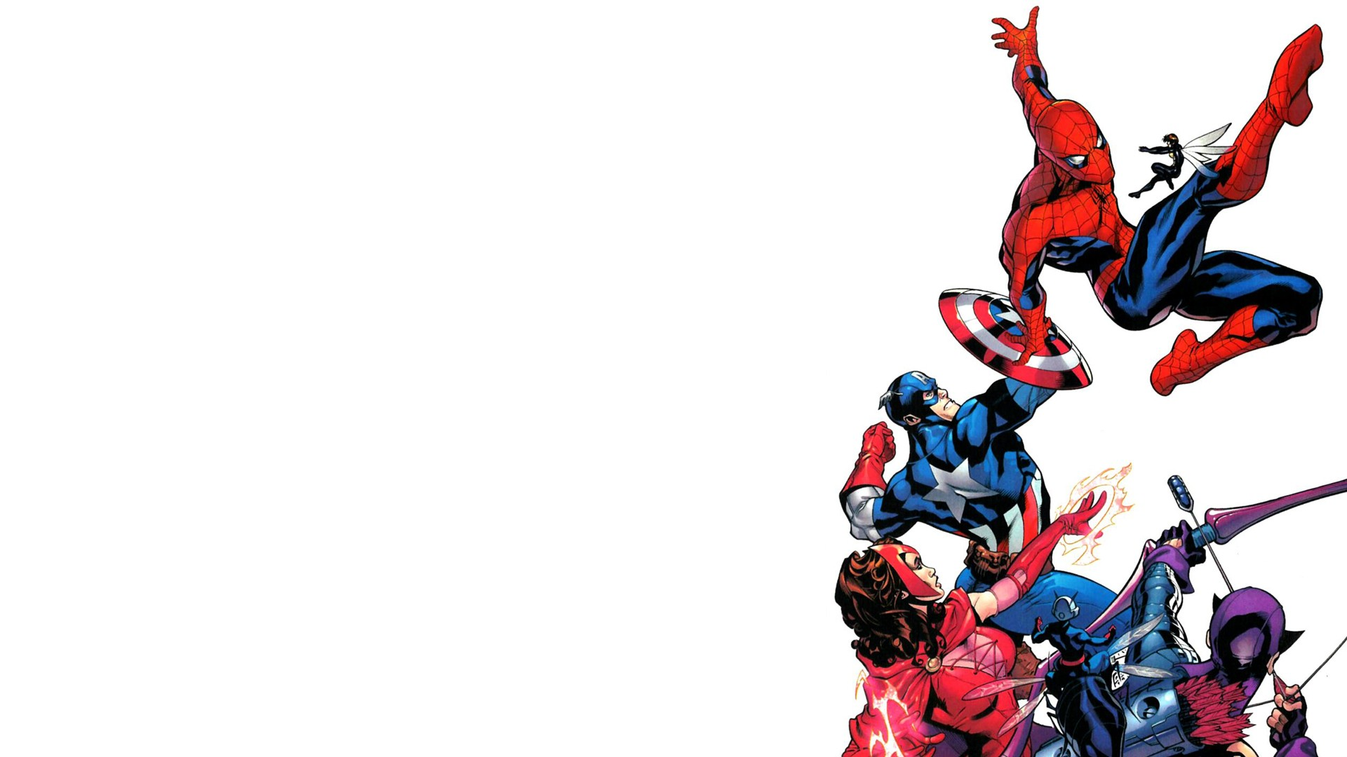 Spider-man fights the Avengers.jpg