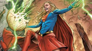 Supergirl is angry
