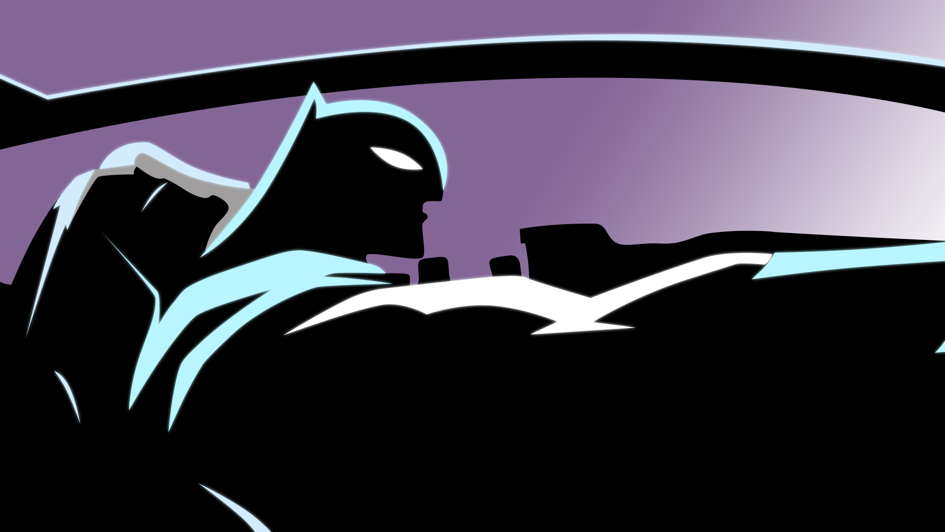 The Batman in The Batmobile in The Darkness.png