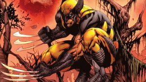 Wolverine With Them Claws Out