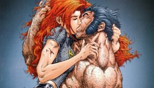 Wolvering and Jean Grey