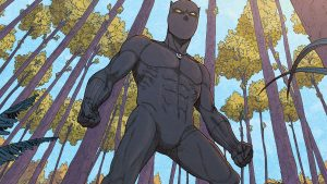 blank panther