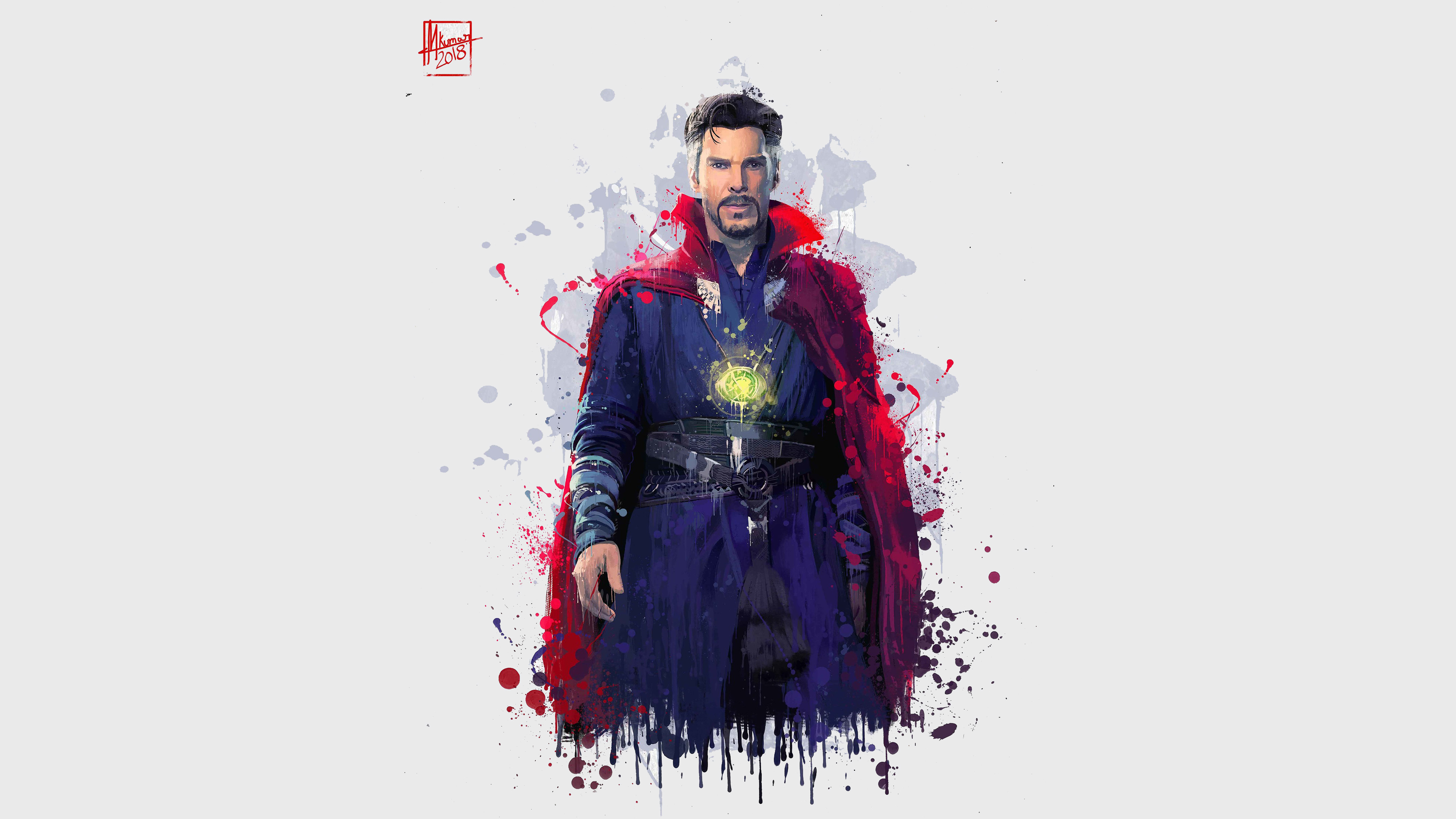 doctor strange in avengers infinity war 2018 4k artwork kw.jpg