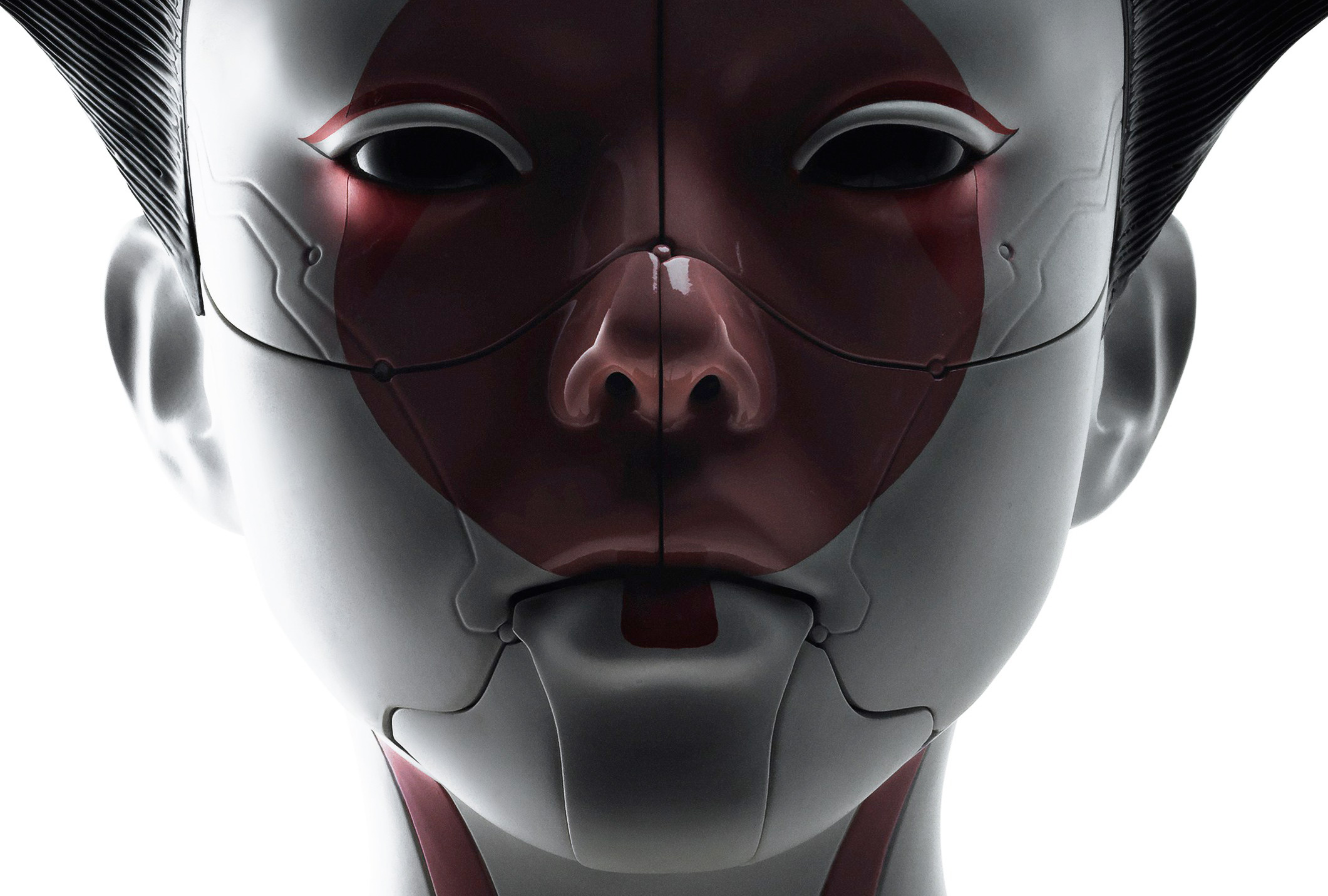ghost in the shell robot geisha po.jpg