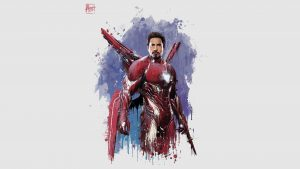 iron man new suit for avengers infinity war vi