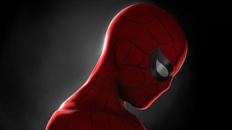 Spider-man appears to be sad