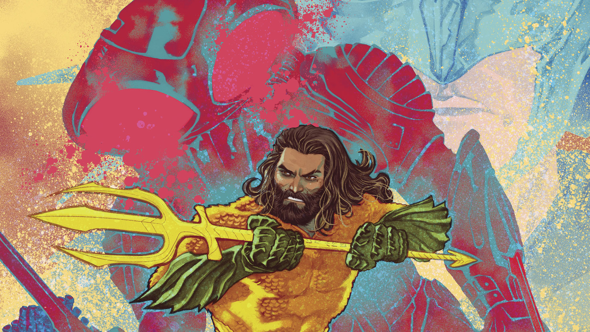 Aquaman being zapped by Black Manta.jpg