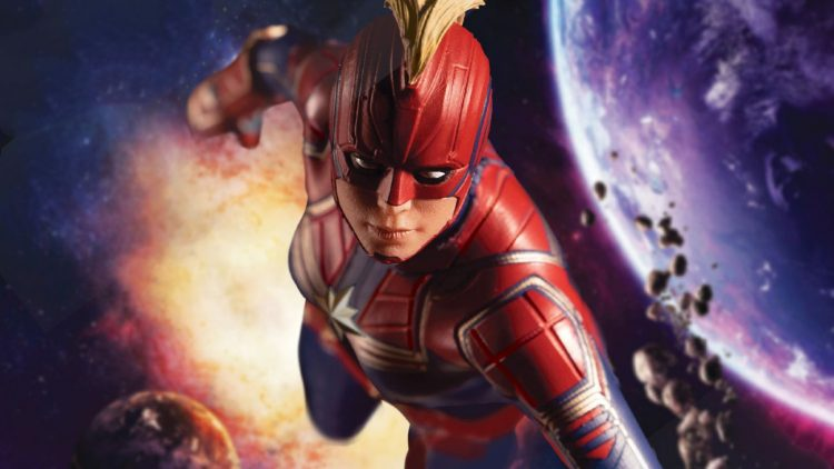 Captain Marvel in the Space
