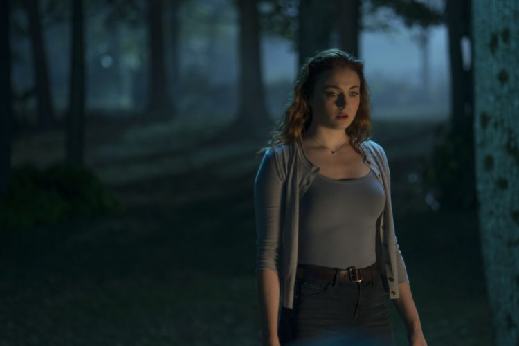 Jean Grey in the woods