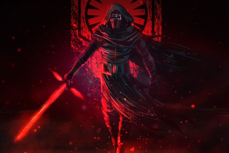 Kylo in red