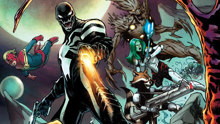 Venom and his Guardian Friends