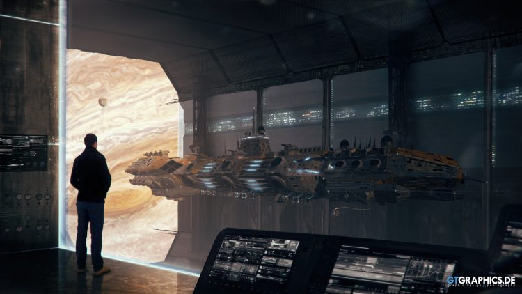 space dock view