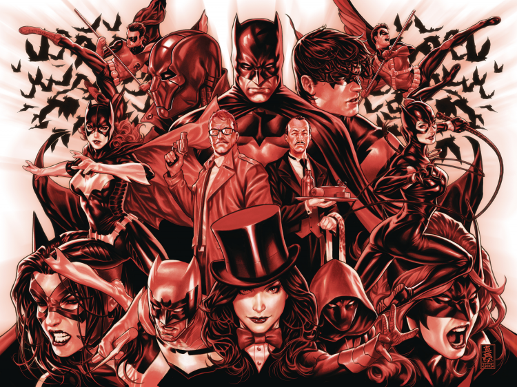 Detective Comics 1003 and 1004 Joined