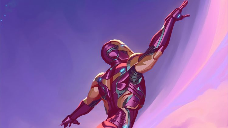 Iron Man Reaches for the sky