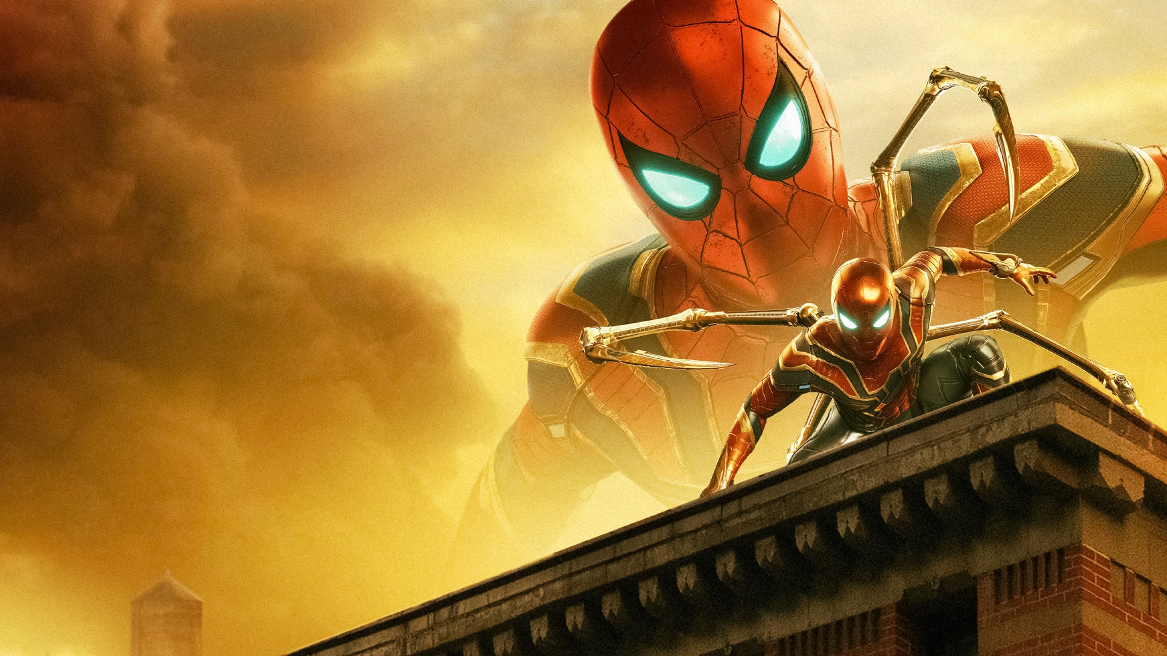Iron Spider on the Iron building.jpg