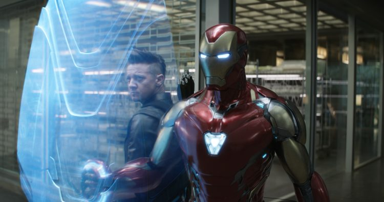 Iron man and his arrow friend