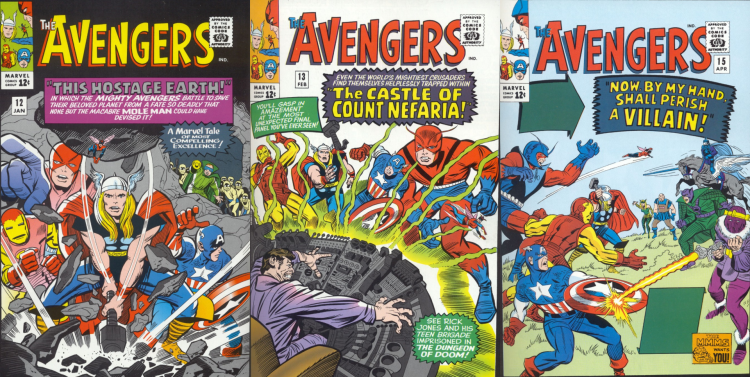 Avengers Covers
