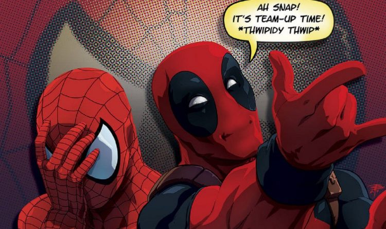 spider-man and deadpool teaming up