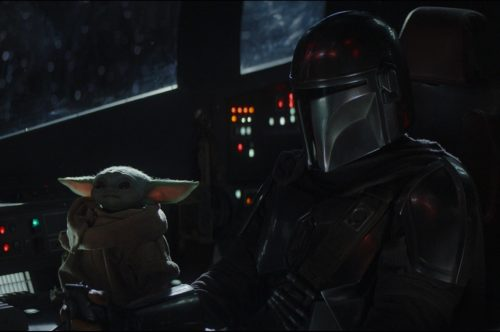 The Child is in the Cockpit of Mando's spaceship