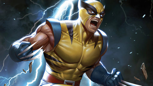 angry classic wolverine