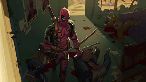 deadpool is wanted