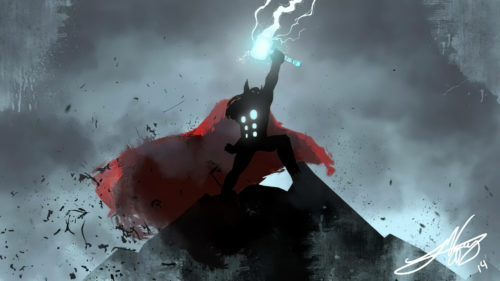 thor commands the lightning