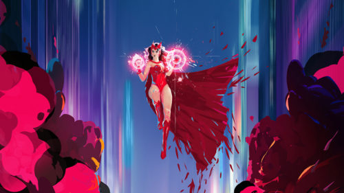 scarlet witch is powerful