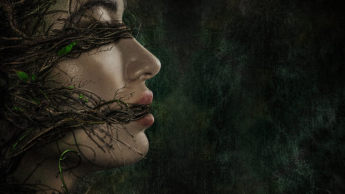 Swamp Girl Gagged by Swamp Thing