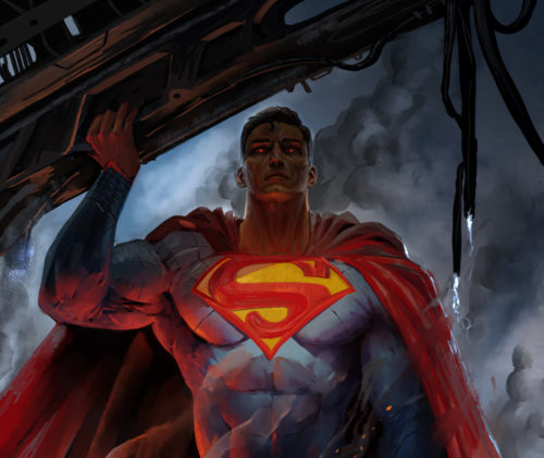 Superman is a zombie
