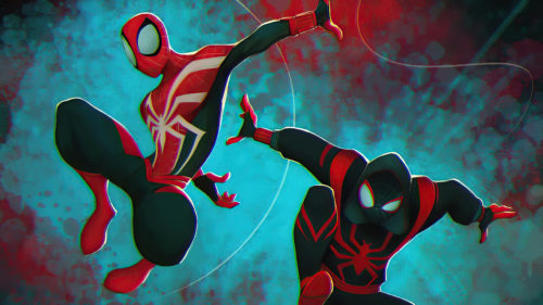 Spider-man and other Spider-man gaming web
