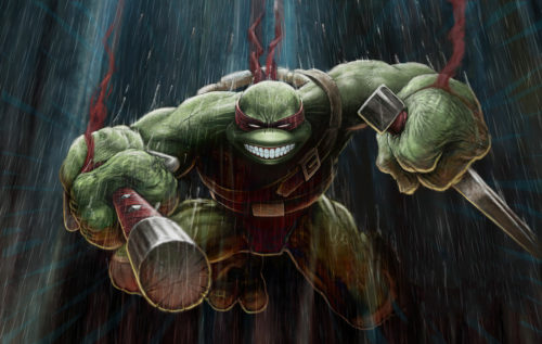 TMNT in sewer