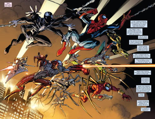 all the spider-men