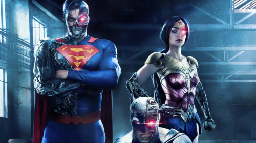 cyborg superman and friends