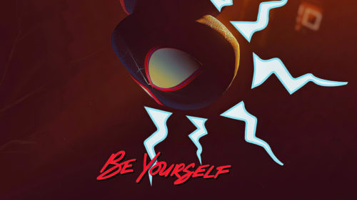 spider-man says to be yourself