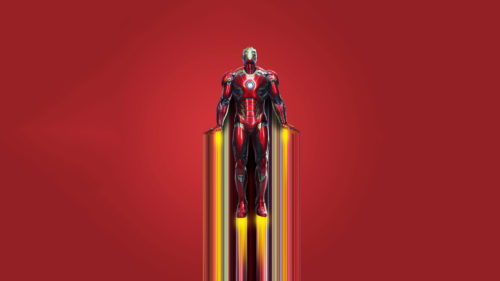 Iron man is up
