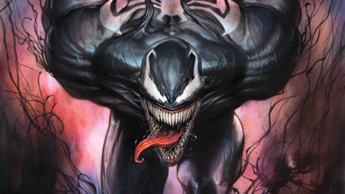 Venom is hungry for your face