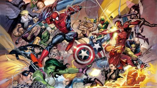 Avengers Fights